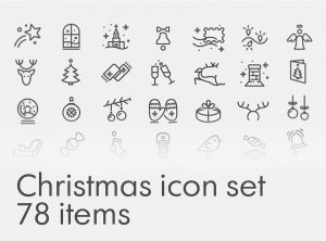 Free Christmas Icon Pack