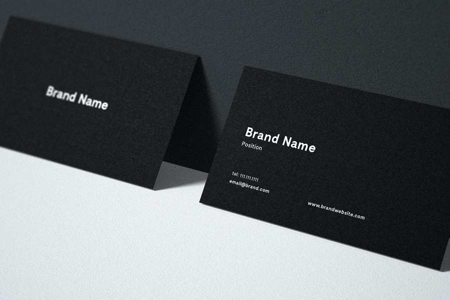 Business Card Mockup PSD for Free - Averta Blog